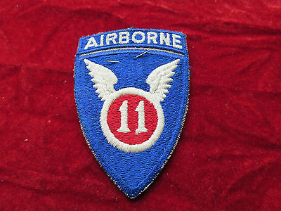US Army 11th Airborne Division patch w/ original store tag 1 Piece