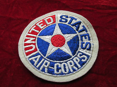 US Army Air Corps Patch Fully Embroired attached tab w/store tag PX Style AAF