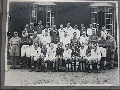 ANTIQUE VINTAGE PHOTOGRAPH BRITISH ARMY RUGBY FOOTBALL TEAM / CLUB 1920s      37