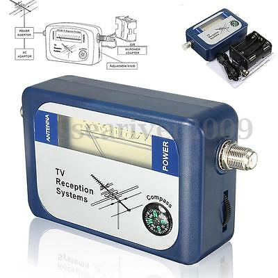 New SF95DT DVB-T Mini Digital TV Antenna Satellite Finder Signal Meter Compass