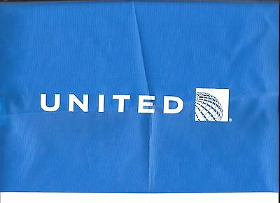 United Airlines Nylon Current Logo Blue Backpack In Your Pocket 2009