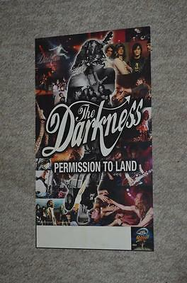 The Darkness Permission to Land RARE Atlantic Records Promo Poster from 2003