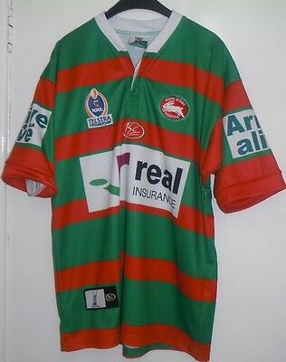 Nrl Excellent South Sydney Rabbitohs Rugby League Shirt Size Adult Small