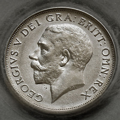 1917 George V Silver Shilling – CGS 75