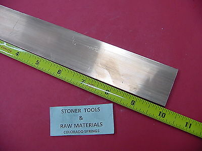 "1/8""x 1-1/2"" C110 COPPER BAR 10"" long Solid Flat Mill Bus Bar Stock H02"