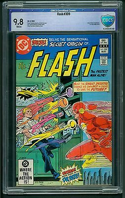 Flash #309 (1982) CBCS Graded 9.8 ~ Lord of Chaos App. ~ DC