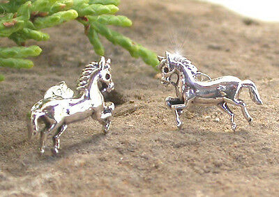 Horse & Western Jewellery Jewelry Ladies 925 Sterling Silver Horse Earrings