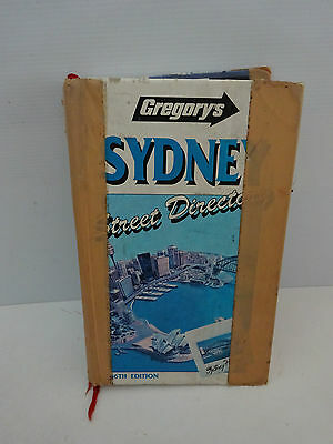 Gregory's Sydney 1991 Street Directory 56Th.edition