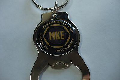 Cool Metal Key Chain Bottle Opener ~*~ MILWAKUEE Brewing Co ~ WISCONSIN Brewery