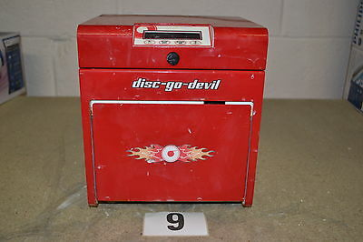 TDR Disc-Go-Devil Disc Repair & Cleaning Machine (Untested)