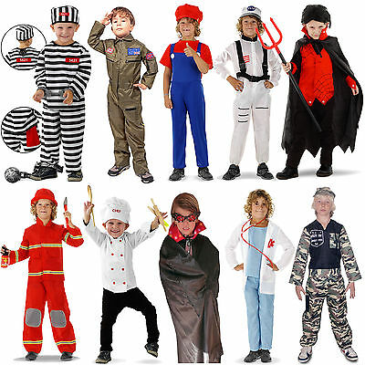 Fancy dresses For Boys in Size 98 - 134 Carnival Costume Children Party