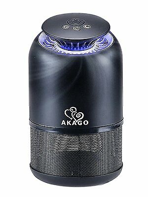 AKAGO Indoor UV Light and Suction Fan Mosquito Trap Non-toxic Non-Chemical