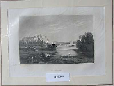84598-Portugal-Portuguesa-Coimbra-Stahlstich-Steel engraving