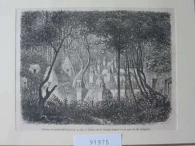 91975-Asien-Asia-Kambodscha-Cambodia-Angcor Wat-T Holzstich-Wood engraving