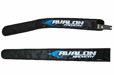 New Black Avalon Archery Recurve Bow Limb Protection Sleeve Covers Bag Pair