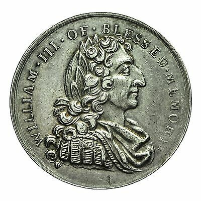 Middlesex William Iii Silver Penny Token 1788