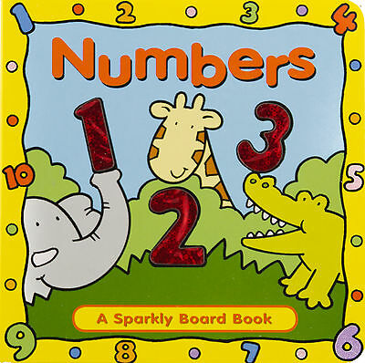 Early Learning Sparkly Board Book Numbers, 123,  Counting