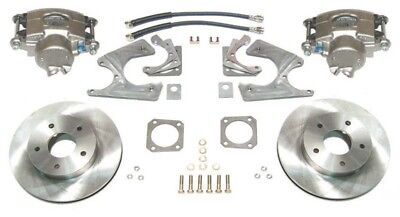 55-70 Chevy Impala Full Size Rear Disc Brake Conversion Kit without Park E-Brake
