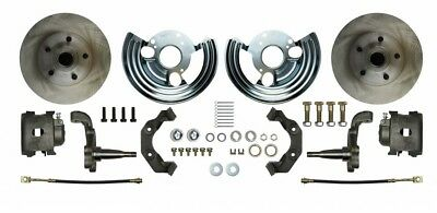 62-72 Mopar B E Body Front Disc Brake Conversion Wheel Kit Brakes MDC62WK