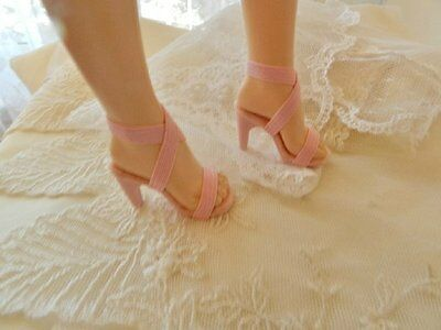 """All Pink High Heel Doll Shoes For 20""""  Cissy, Miss Revlon, Replica of Originals"""