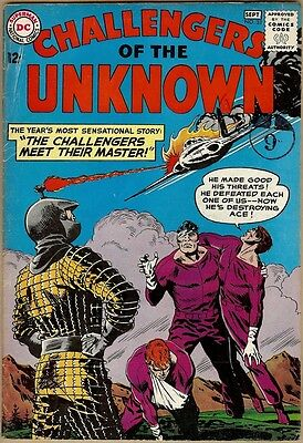 Challengers Of The Unknown #33 - VG/FN