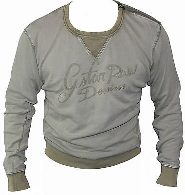 "G-STAR RAW Men's VINTAGE R-NECK SWEATER Jumper/Top  Size L ""Brand New"""