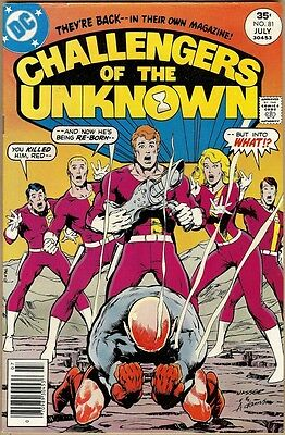 Challengers Of The Unknown #81 - VG/FN