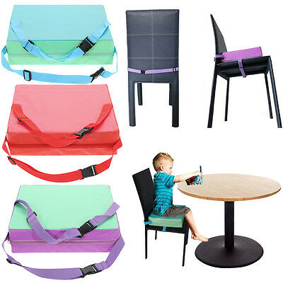 Kids Dining Chair Highchair Booster Soft Cushion Pad Baby Seat Booster Portable