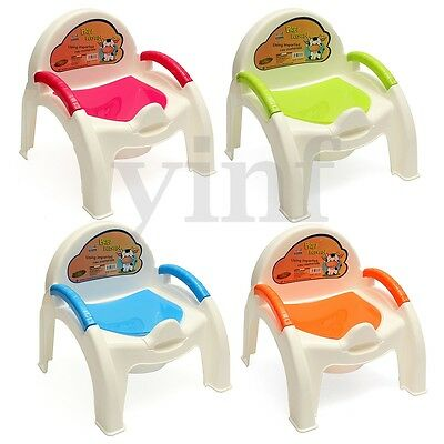 Child Toliet Seat Chair Potty Training Toddler Removable Lids Kid Easy Clean