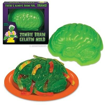 Zombie Brain Jelly Mould - Gelatin Mold - Halloween Horror Party