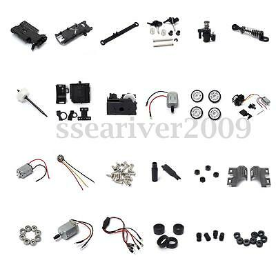 RC 1:28 Remote Control Car Tire Motor Gear Motor Various Accessories Components
