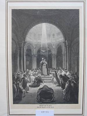 89155-Religion-Religiöses-Parsifal zeigt den Gral-TH-Wood engraving