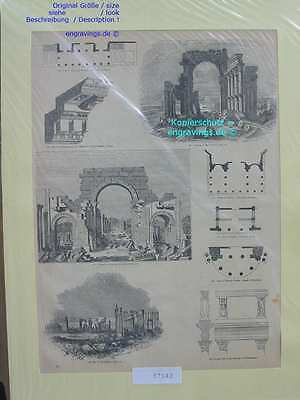 37042-Asien-Asia-Syrien-Syria-Palmyra-etc.-T Holzstich-Wood engraving-1850