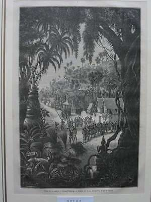 93134-Asien-Asia-Indo-China-Luang Prabang-T Holzstich-Wood engraving