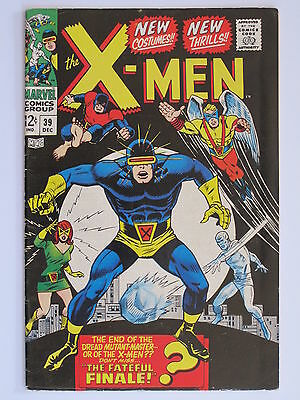 X Men #  39 Us Marvel 1967   Vg-Fn