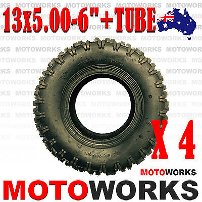 "4 x 13 x 5.00 - 6"" inch Tyre Tire TUBE ATV QUAD Bike Gokart Scooter Buggy Mower"