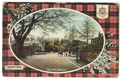 CLYDEBANK The Hill, Duntocher Road, Dalmuir, Postally Used Postcard 1921