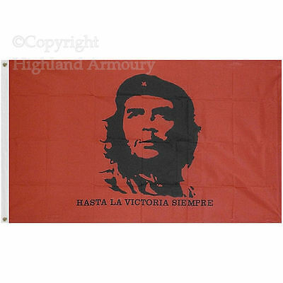 5' x 3' FLAG Che Guevara Festival Socialist Marxist ft Large Flags 150x90cm New