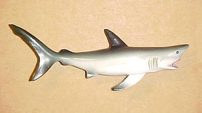 "4"" SHARK Wall  Hanging Decor Beach Ocean Great White Nautical Tropical Fish Bath"