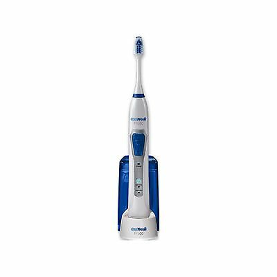 Oral Fresh Pro30 Slim Rechargeable Three Mode Sonic Electric Toothbrush - White.