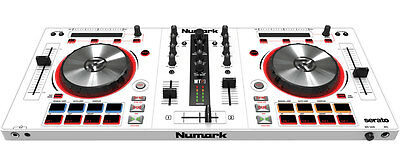 Numark Mixtrack Pro 3 White Controller Digitale Scheda Audio Dee Jay Consolle