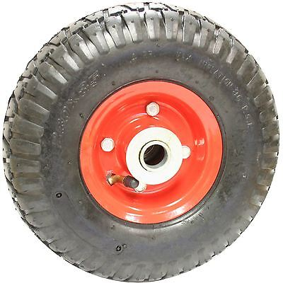 "10"" Sack Truck Pneumatic Spare Wheel Tyre Red Trolley Hand Cart"
