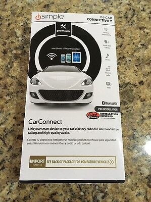 iSimple Car Connect Bluetooth Hands-Free Calling Kit (ISIM7518)