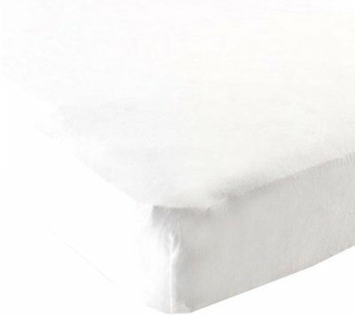 Luvable Friends Fitted Pack N Play Sheet, White New
