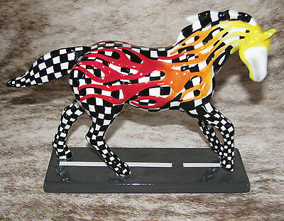 TRAIL OF PAINTED PONIES Horsepower To Burn 2E/7991 ~RETIRED~Hot Rods-Drag Racing