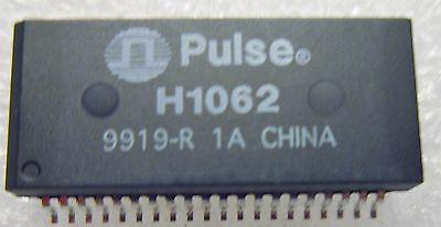 H1062 PULSE 1A TELECOM TRANSFORMER Type  10/100Base-TX Quad Port