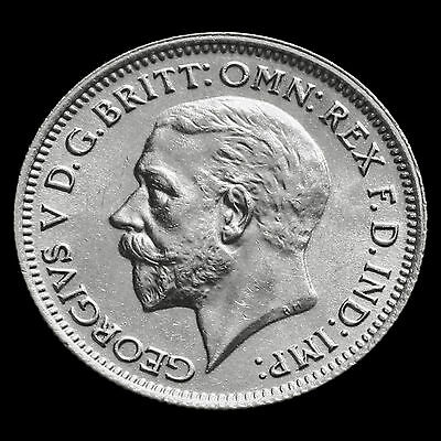 1936 George V Silver Sixpence – UNC