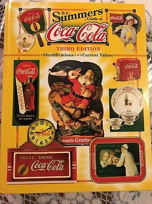 COCA COLA PRICE GUIDE Hard Back 3RD EDITION B.J. SUMMERS Identifications Values