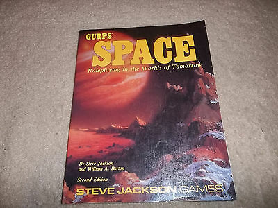 Gurps Space 2nd Ed