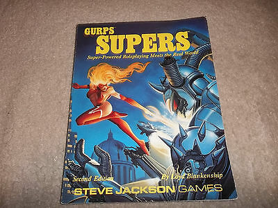 Gurps Supers 2nd Ed